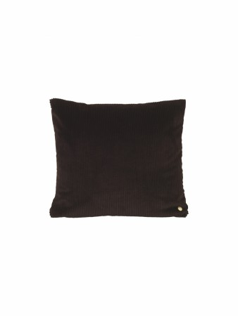 Ferm Living - Corduroy Cushion - Chocolate