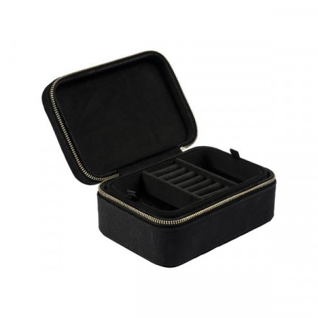 Dark VELVET JEWELLERY BOX BLACK