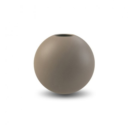 Cooee Design - Ball Vase 8cm, Mud
